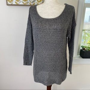 American Eagle Outfitters heather tunic sweater.